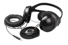 Disassembled Headphone Royalty Free Stock Photography