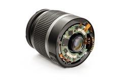 Disassembled lens. Royalty Free Stock Photos