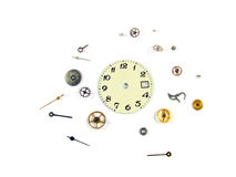 The disassembled watch Stock Photography