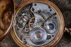 Disassembled  watch Royalty Free Stock Image