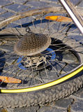 Disassembled wheel Royalty Free Stock Photography