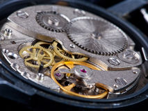 Disassembled wristwatch Stock Photo