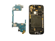 Disassembly of smartphone Royalty Free Stock Photos