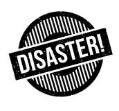 Disaster rubber stamp Stock Photos