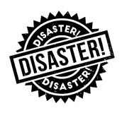 Disaster rubber stamp Royalty Free Stock Photography