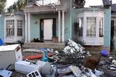 Disaster site Stock Photos