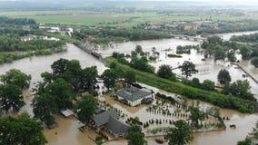 Dam flooding