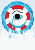 Disaster Tears_eps Stock Photos