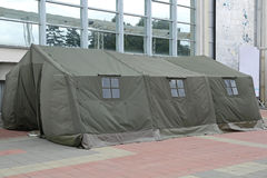Disaster Tent Stock Images