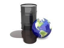 Disastre do petróleo - América Imagem de Stock