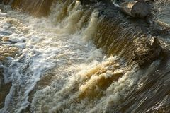 Disastro di inondazione Immagini Stock