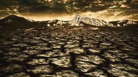 Disastro naturale Fotografia Stock Libera da Diritti