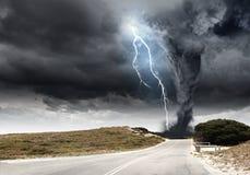 Disastro naturale Fotografia Stock