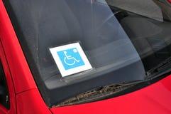 Disattivi il segno del driver immagini stock libere da diritti