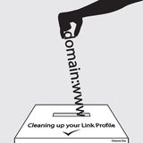 Disavow Tool Seo Cleaning up your Link Profile Stock Photography