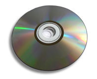 Disc. DVD / CD Disc Isolated On A White Background Royalty Free Stock Photo