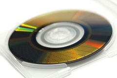 Disc. For digital data recording Royalty Free Stock Image