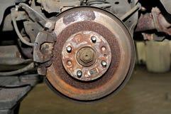 Disc brake. Stock Photo
