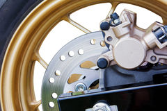 Disc brake  of automotive Stock Photography