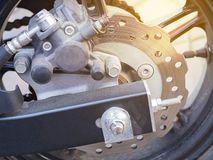 Disc Brake. Background pattern. Stock Images