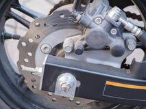 Disc Brake. background pattern. Stock Photo