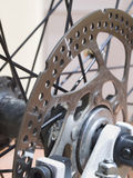 Disc Brake Closeup Royalty Free Stock Photography
