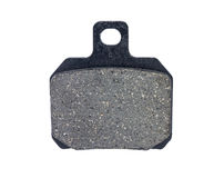 Disc brake pad. Isolated on white background Stock Image