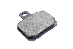 Disc brake pad. Isolated on white background Stock Photos