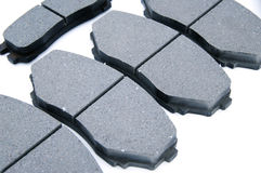 A  Disc Brake Pads  background Royalty Free Stock Images