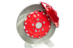Disc brake. Royalty Free Stock Photos