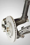 Disc Brake and Shock Assembly Stock Photos