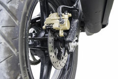 Disc brakes. Auto brakes background royalty free stock image
