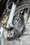 Disc Break of Motorcycle Stock Photo