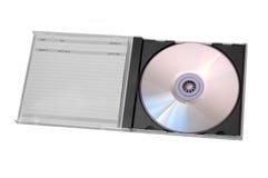 Disc in case Stock Photos