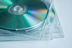 Disc. Cd disc for data storage Royalty Free Stock Images