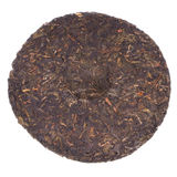 Disc of chinese puer tea Stock Photography