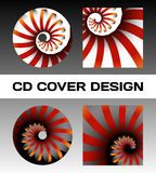 Disc cover design Royalty Free Stock Photography