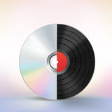 Disc evolution Royalty Free Stock Photography