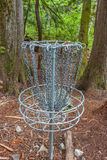 Disc Golf Basket Stock Images