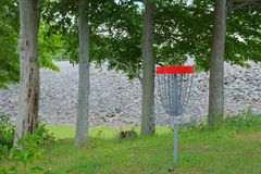 Disc Golf Basket Target Royalty Free Stock Images