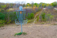 Disc Golf Catcher Stock Photography