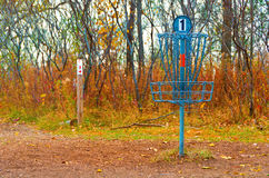 Disc Golf Catcher Royalty Free Stock Image