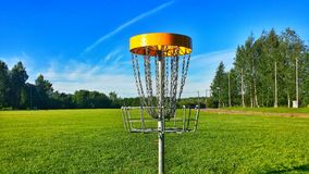 Disc Golf Landscape Royalty Free Stock Image