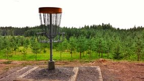 Disc Golf Park Stock Photography