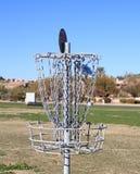 USA: Disc Golfing > Bull´s Eye! Royalty Free Stock Image