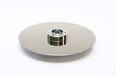 Disc in hard drive Royalty Free Stock Image