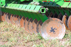 Disc harrow Royalty Free Stock Photo