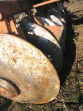Disc Harrow Close-Up of Discs Royalty Free Stock Photo