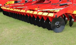 Disc Harrow Trailer. Royalty Free Stock Images