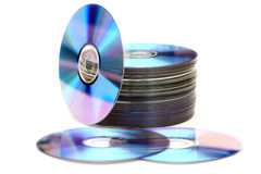 Disc Heap Royalty Free Stock Photography